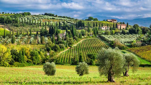 Invito a cena tra le dolci colline toscane