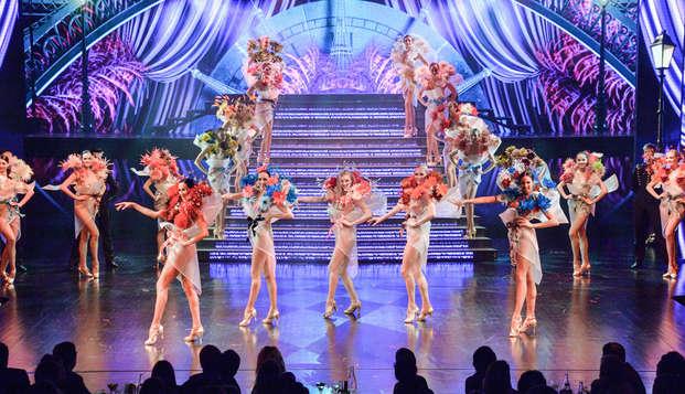 ¡Estancia mágica en París con cena espectáculo en el Lido!