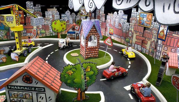 Ontspannen reis naar Meudon met toegang tot France Miniature