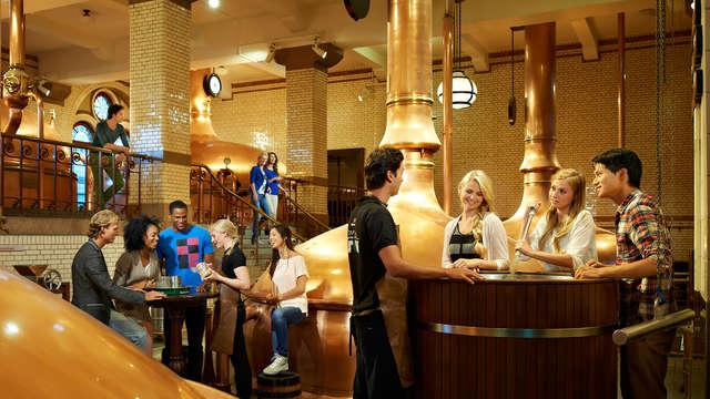 Le confort d'Amsterdam et accès à la Heineken Experience