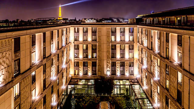 Escapade de luxe à Paris dans un hôtel de collection