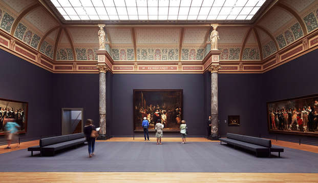 Visite Amsterdam et son musée, le Rijksmuseum