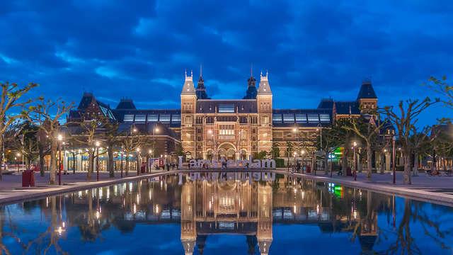 Luxe et culture avec visite du Rijksmuseum à Amsterdam