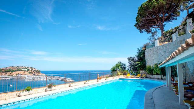 Minivacaciones en media pensión en la Costa Brava (desde 3 noches)