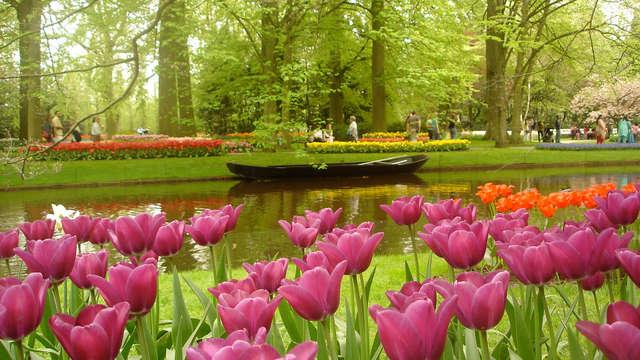 Amsterdam, le luxe, le bien-être et les fleurs à Keukenhof