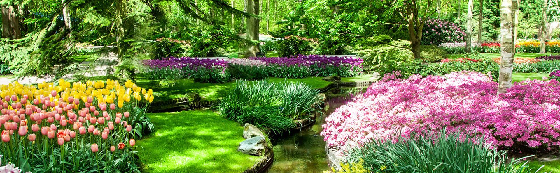 Profitez de la beauté des fleurs au Keukenhof et d'un hôtel de luxe 5* à Noordwijk