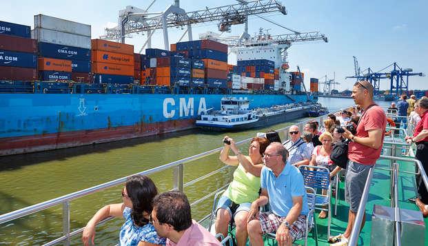 Explorez le centre-ville et le port de Rotterdam