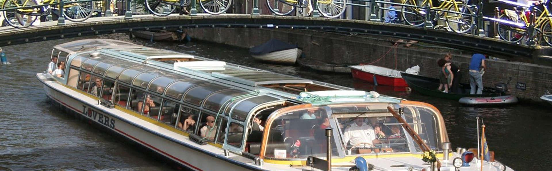 Hôtel 3 étoiles à Amsterdam et croisière sur son canal