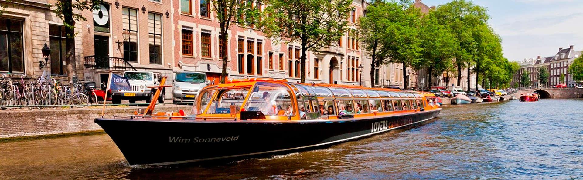 Escapada a Ámsterdam con paseo en barco y acceso al spa