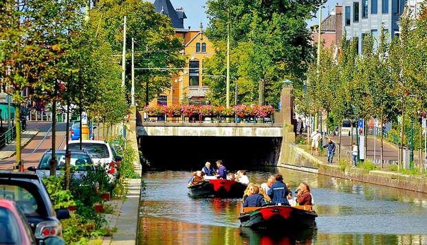 Ontspanningsweekend met grachtenrondvaart in Den Haag