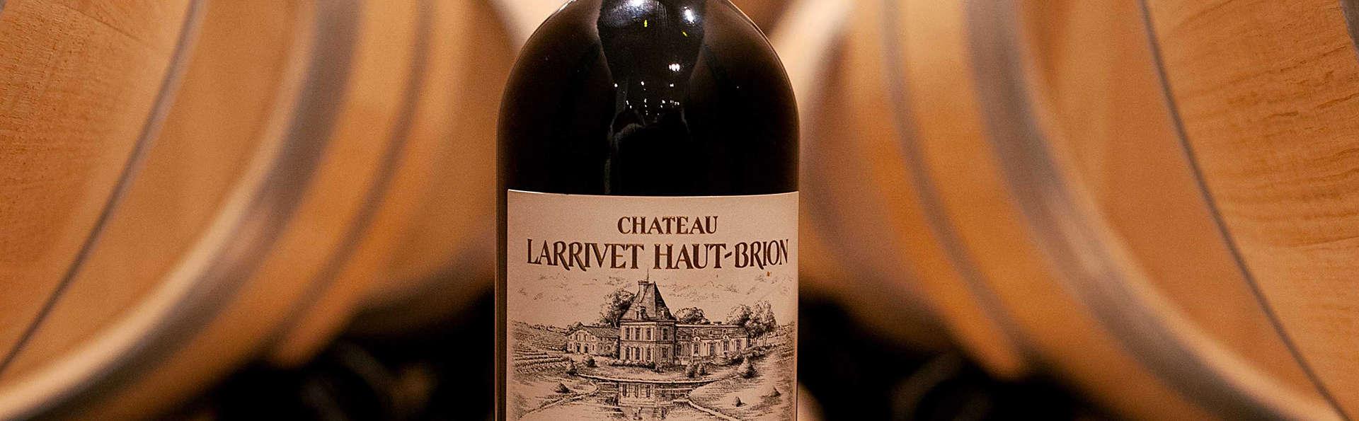 Week-end dégustation au Château Larrivet Haut-Brion dans les quartiers du lac, à Bordeaux