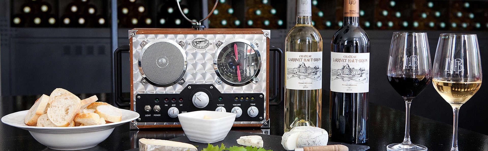 Bien-être et dégustation au Château Larrivet Haut-Brion aux portes de Bordeaux