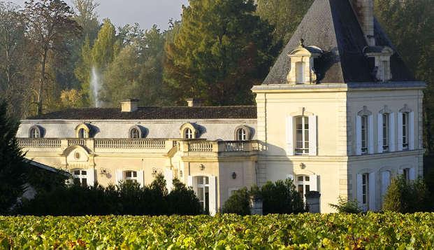 Relax et visite du Château Larrivet Haut-Brion aux portes de Bordeaux