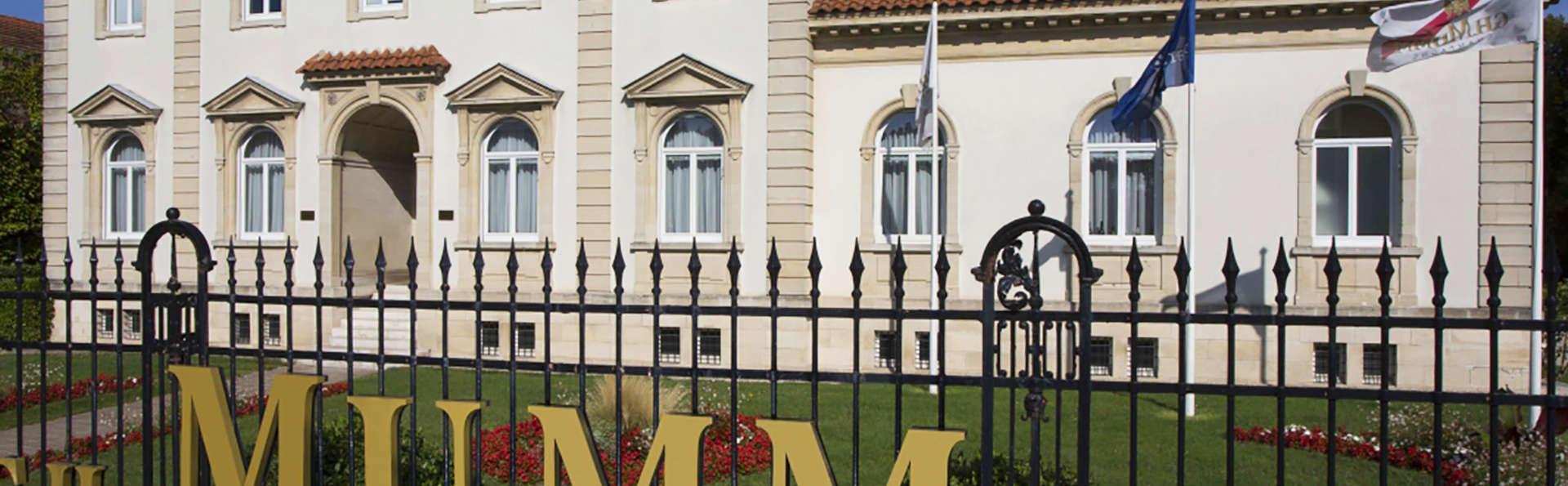 Verblijf in Reims met bezoek en champagneproeverij bij Mumm