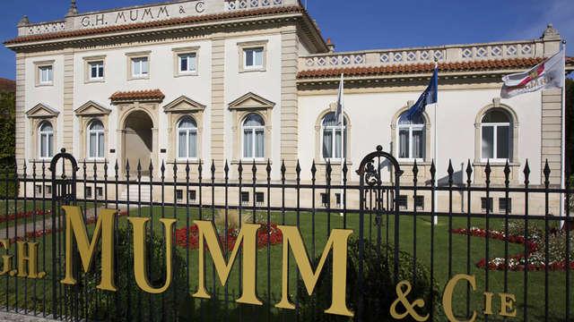 Séjour à Reims avec visite et dégustation de champagne chez Mumm