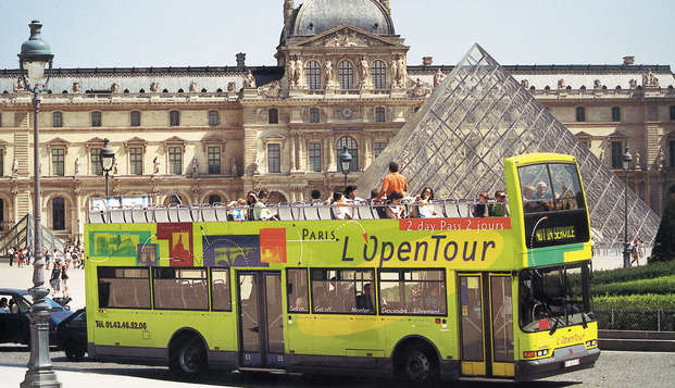 Visitez Paris en bus le temps d'un week-end
