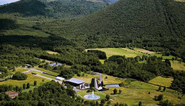 Week-end en plein cœur des volcans d'Auvergne avec entrées à Vulcania