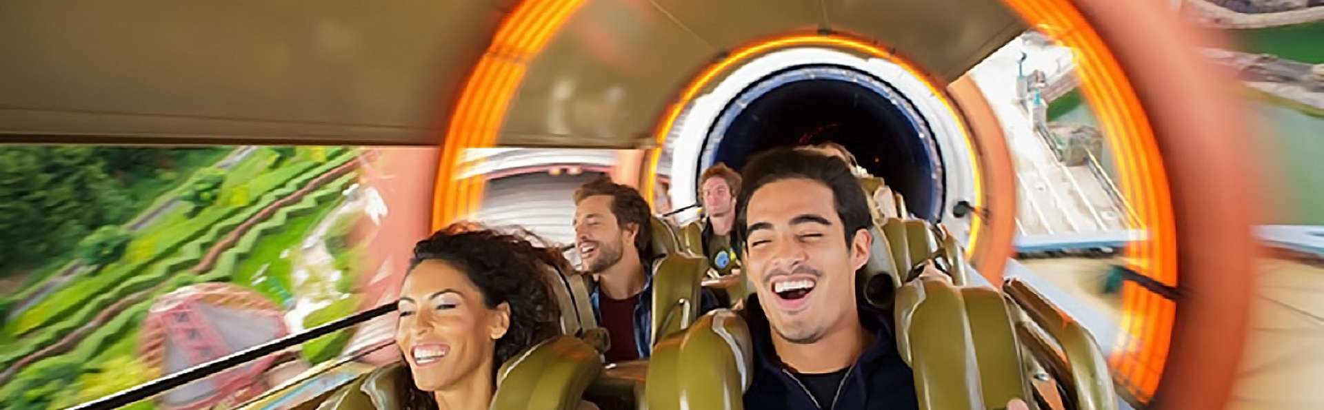 Familietripje met toegangskaartjes voor Disneyland Parijs (1 dag / 2 parken)