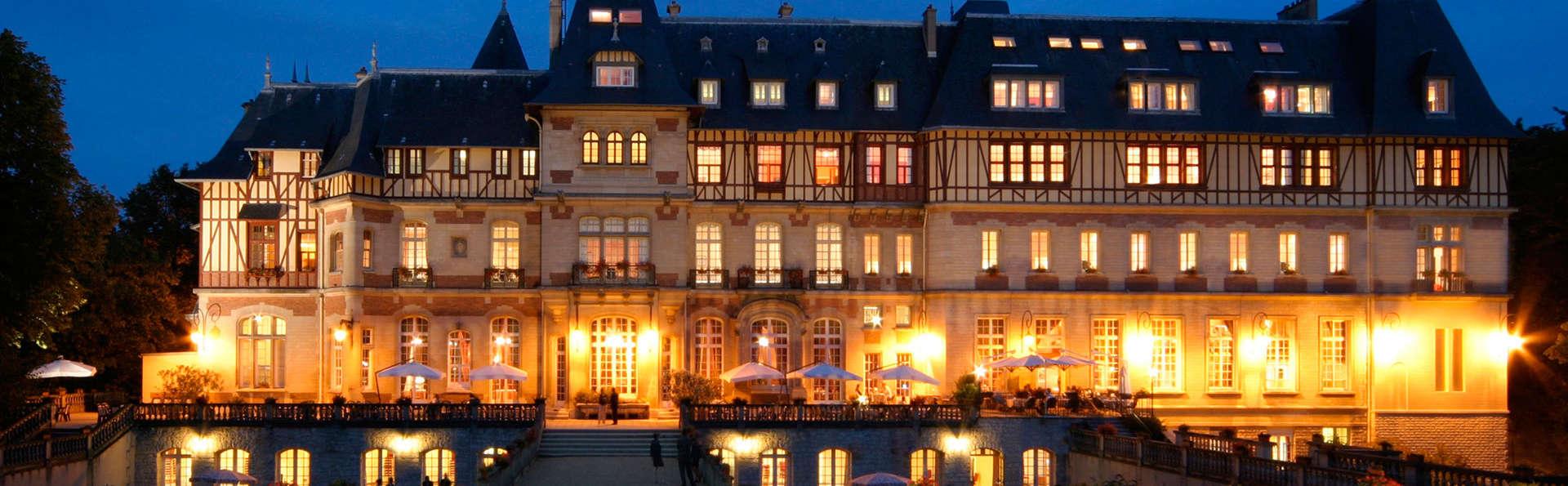 Escapade détente et gourmande dans un magnifique château à Chantilly