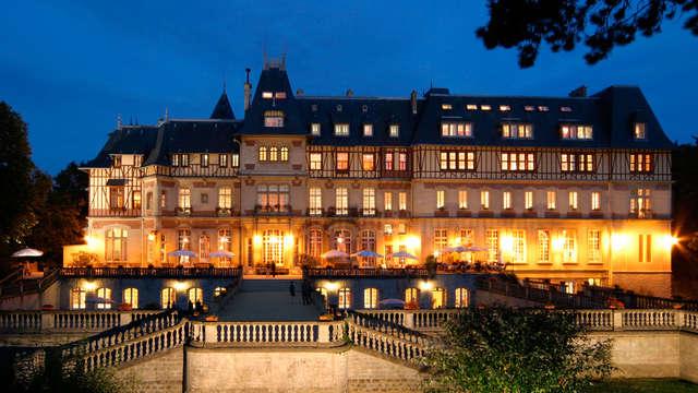 Week-end détente en chambre château à Chantilly