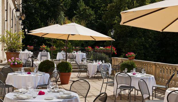 Escapada relax con cena en un castillo de Chantilly