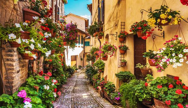 Séjour dans la charmante ville de Città di Castelllo (à partir de 2 nuits)