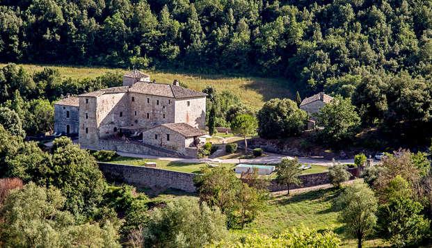 Séjournez dans un beau château à l'ombre des collines d'Ombrie