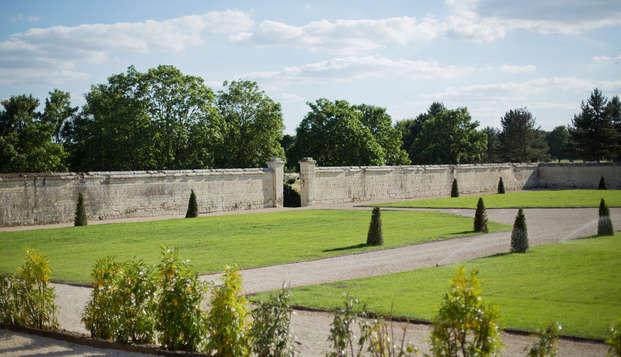 Domaine de Roiffe - garden