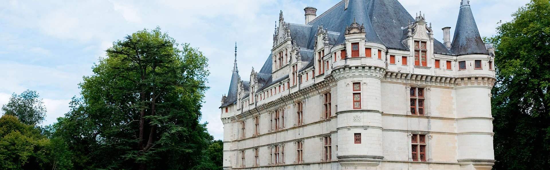 Week-end avec visite du Château d'Azay-le-Rideau