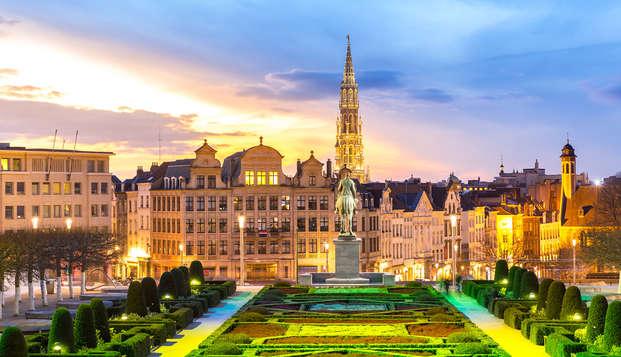 Overnacht in pure luxe aan de Avenue Louise in Brussel