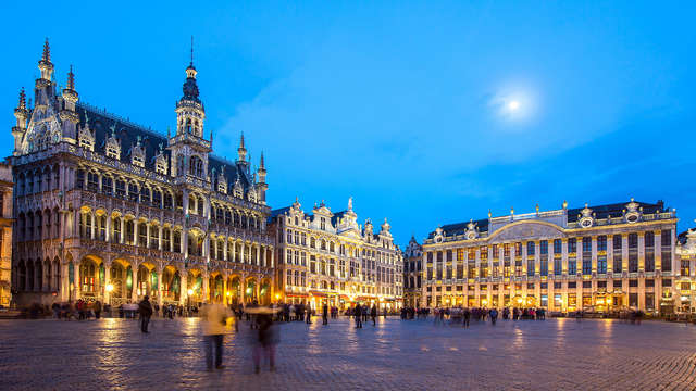 Overnacht in pure luxe aan de Avenue Louise in Brussel