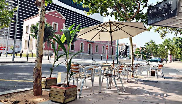 Escapade avec petit-déjeuner et parking inclus dans le centre de Castellón de la Plana
