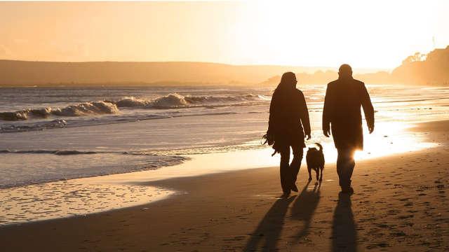 Weekend idilliaco al mare con accesso alla spa (per 5 persone, a partire da 2 notti)