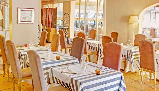 Évadez-vous sur les hauteurs de Cannes avec dîner et accès au spa