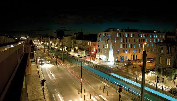 Week-end à Bordeaux dans un hôtel design