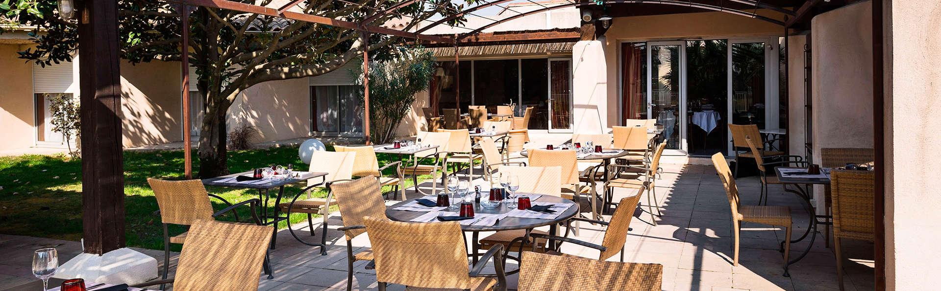 Parenthèse épicurienne avec dîner et dégustation près d'Avignon (à partir de 2 nuits)