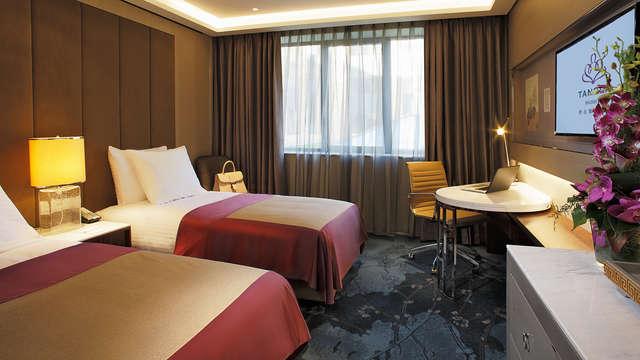 Week-end de luxe dans un nouveau hôtel 5 étoiles à Bruxelles