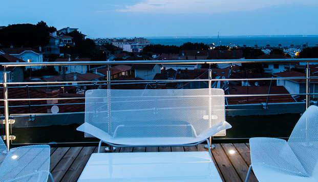 Grand Atlantic Hotel - Solarium soir