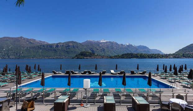 Estancia Todo Incluido a orillas del lago de Como
