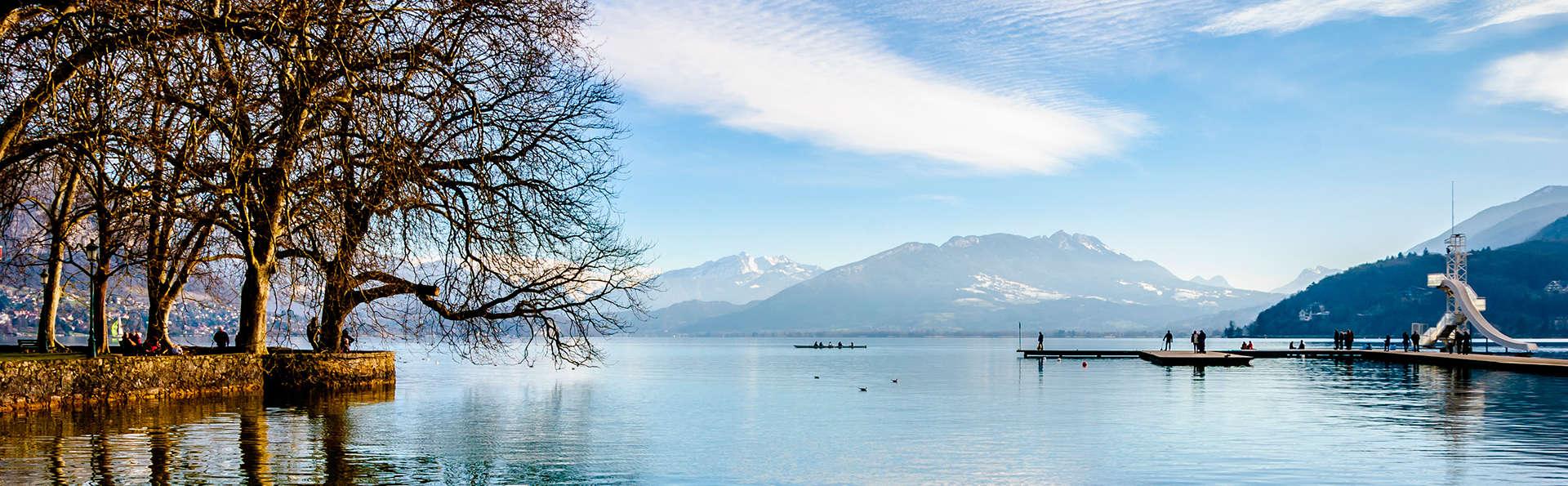 Séjour bien-être avec accès spa et vue exceptionnelle sur le lac d'Annecy