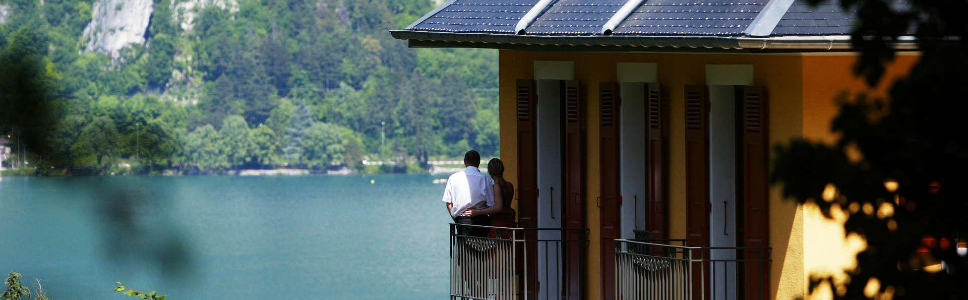 Escapade détente avec accès spa et vue sur le lac d'Annecy