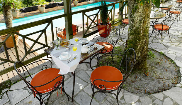 Hotel les Tresoms Lake and Spa Resort - Annecy - terrace