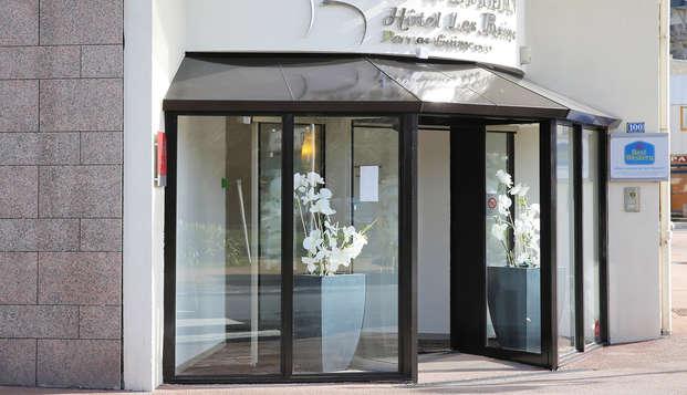 Best Western Les Bains Hotel et SPA - entrance