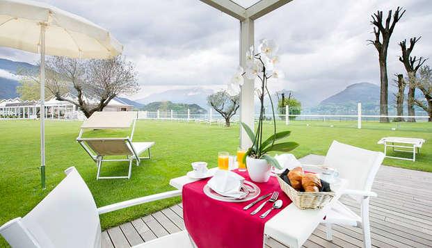 Charme in mezza pensione sulle sponde dell'incantevole Lago di Como