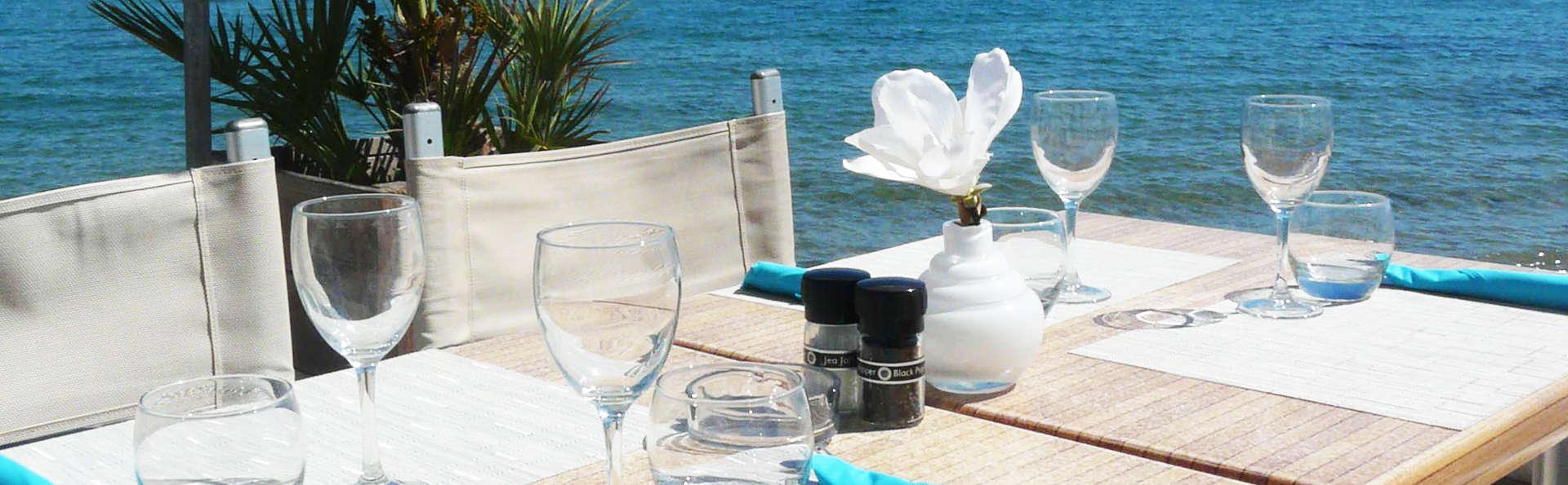Break gourmand en bord de mer entre Cannes et Saint-Tropez