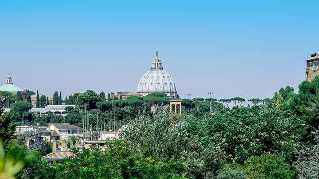 Séjour à Rome près du Vatican, dans un hôtel vue Cupolone au meilleur prix