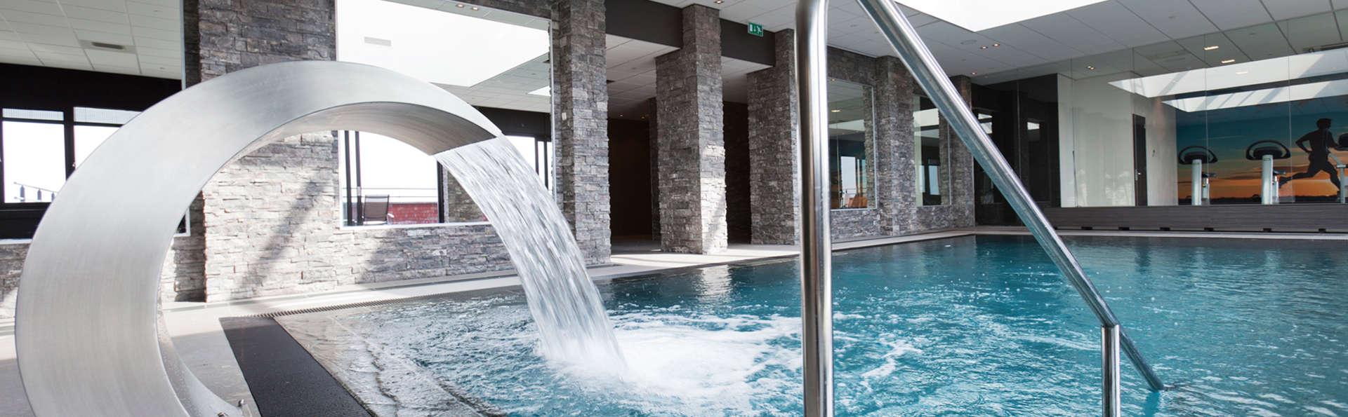 Détendez-vous dans un spa doté d'une vue panoramique près de Rotterdam!