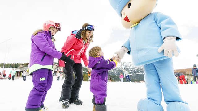 Skiën met het gezin in Vallnord met skipas (vanaf 2 nachten)
