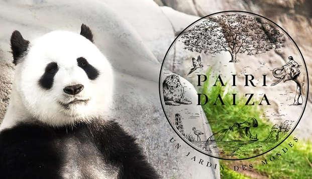 Relax con visita al parque zoológico de Pairi Daiza