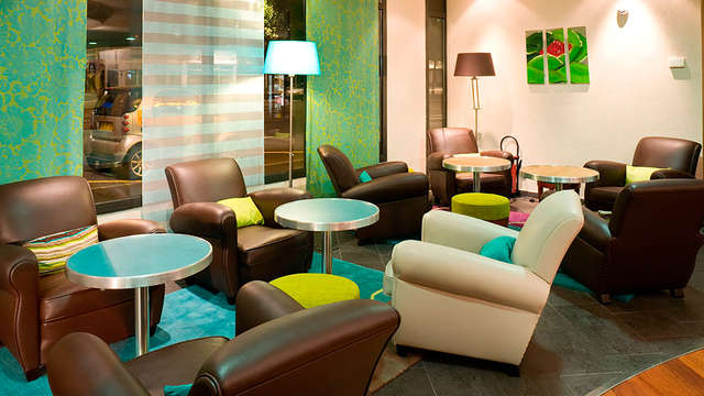 Novotel Suites Clermont Ferrand Polydome - lobby